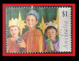 072. AUSTRALIA ($1.00) 1997 USED STAMP CHRISTMAS - 1990-99 Elizabeth II