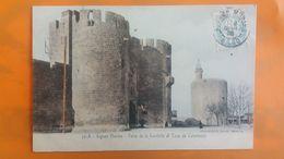 Aigues Mortes - Porte De La Gardette Et Tour De Constance - Aigues-Mortes