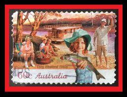 072. AUSTRALIA (60C)  USED STAMP LONG WEEKEND 1980 - 1990-99 Elizabeth II