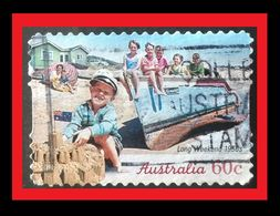 072. AUSTRALIA (60C)  USED STAMP LONG WEEKEND 1950 - 1990-99 Elizabeth II