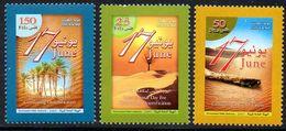 Kuwait Koweit 1690/92 Désert, Climat, Oasis - Environment & Climate Protection