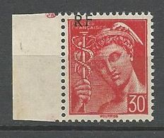 MERCURE SURCHARGE DEPLACE N° 658 NEUF** LUXE SANS CHARNIERE / MNH - 1938-42 Mercurio