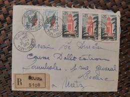 Bouira Algérie Pour Metz Moselle France ( Le 22 04 1963) Algérie - Argelia (1962-...)