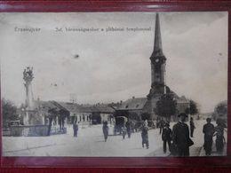 SLOVAKIA - NOVÉ ZÁMKY / HUNGARY - ÉRSEKÚJVÁR / 1916 (AB34) - Slovaquie