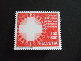 SWITZERLAND  2020.  COVID 19. CORONA. STAMP MNH **  (V35-475) - Switzerland