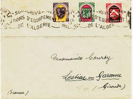 France Algerie, De Constantine En 1949, Krag  Souscrivez Aux Bons D'équipement De L'algérie TB - Lettres & Documents