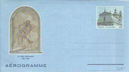 AEROGRAMME 1991 - Vaticano (Ciudad Del)