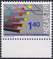 SCHWEIZ 1988 Mi-Nr. UIT 14 ** MNH - Dienstpost