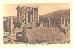 CPA ALGERIE - 6. DJEMILA - Le Grand Temple - Algeria