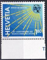 SCHWEIZ 1994 Mi-Nr. UIT 15 ** MNH - Dienstpost