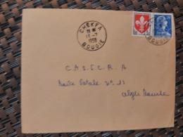 Chekfa Algérie Pour Alger ( Le 13 07 1959) Algérie Française - Cartas