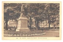 CPA 80 - 89. AMIENS - Square René Goblet - Statue De Ducange - Amiens