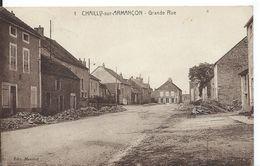 CHAILLY-SUR-ARMANÇON     ( COTE D' OR )   GRANDE RUE - France