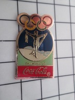 415b Pin's Pins / Rare & Belle Qualité !!! THEME : JEUX OLYMPIQUES / COCA-COLA CHAMONIX 1924 - Juegos Olímpicos