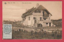 De Haan / Coq Sur Mer - Villas Dans Les Dunes -1911 ( Verso Zien ) - De Haan