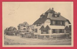 """De Haan / Coq S /Mer  - Villa """" Le Manoir """" -1937 ( Verso Zien ) - De Haan"""