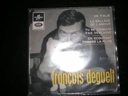 EP FRANCOIS DEGUELT EN ITALIE - Vinyles