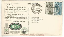 FERNANDO POO TP DEAR DOCTOR MAT SANTA ISABEL 1953 TORTUGA MEDICINA FARMACIA PHARMACY - Fernando Po
