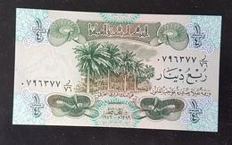 CSAK - Iraq 1979 1/4 Dinar Banknote #0796377 UNC - Iraq