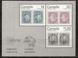 Canada 1978 N° Y&T : BL1 ** - Blocks & Sheetlets