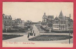 De Haan / Coq S-Mer - Route De La Plage -1908 ( Verso Zien ) - De Haan