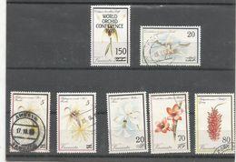 Orchidées    Surchargés Dont   874,875/76      (clasverA) - Légende Française