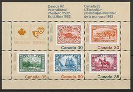 Canada 1982 N° Y&T : BL.3 ** - Blocks & Sheetlets