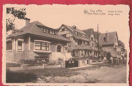 De Haan /  Coq S /Mer - Eenige Villa's  ( Verso Zien ) - De Haan