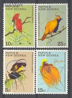 Papua New Guinea 1970 Mi 175-178 MNH ( ZS7 PNG175-178 ) - Birds