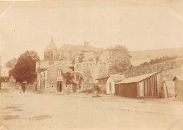 ¤¤  -  ANCENIS   - Cliché Albuminé  -  Vue Sur Le Chateau Vers 1900  -   Voir Description   -  ¤¤ - Ancenis