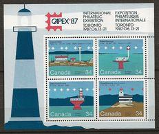 Canada 1985 N° Y&T : BL 5 ** - Blocks & Sheetlets