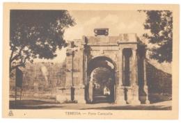 CPA ALGERIE - TEBESSA - Porte Caracalla - Tébessa