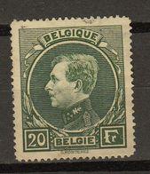Belgie - Belgique Ocb Nr :   290 Paris  (zie Scan) - 1929-1941 Grand Montenez