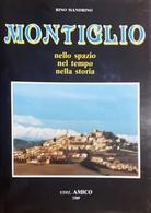 Rino Mandrino - Montiglio Nello Spazio Nel Tempo Nella Storia - Ed. 1989 - Books, Magazines, Comics