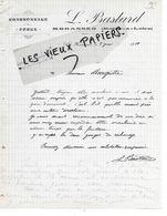 49 - Maine-et-loire - MORANNES - Facture BASTARD - Forge, Charronnage - 1919 - REF 157B - 1900 – 1949