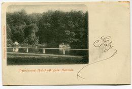 CPA - Carte Postale - Belgique - Séroule - Pensionnat Sainte Angèle - 1902 (WB12956) - Verviers