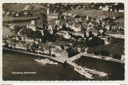 AK  Meersburg Hafen Luftaufnahme - Meersburg