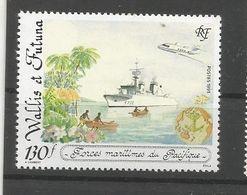 444  Les Forces Maritimes  LUXE SANS CH (pag11) - Wallis Y Futuna