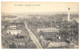 CPA 62 - 173. CALAIS - Panorama Vers Les Jetées - Calais