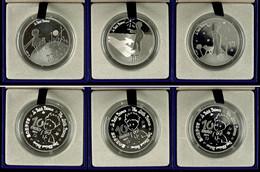 Set Zu 3x 10 Euro, 2015, Le Petit Prince, Je 900er Silber, In Etuis Mit OVPs Und Zertifikaten, PP. Auflage Je Münze 5.00 - Francia