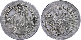 Chur, Stadt, 1620, HMZ 2-485a, Schrötlingsfehler, Kl. Zainende, Schöne Patina, Ss-vz.  Ss-vz - Suisse