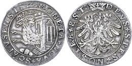 Schaffhausen, Taler ,1620, HMZ 2-763, Ss+. - Suiza
