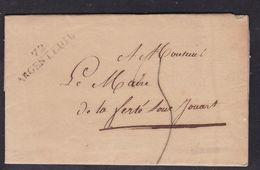 France, Seine Et Oise - 72/Argenteuil Sur LAC De La Mairie Du 7/5/1823 - Indice 8 - Marcophilie (Lettres)
