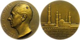 Frankreich, Bronzemedaille (Dm. Ca. 68mm, Ca. 149,07g), 1930, Von A. Maillard, Auf Die Ausstellung In Kairo. Av: Kopf Na - Monedas