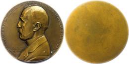 Frankreich, Einseitige Bronzemedaille (Dm. Ca. 68,90mm, Ca. 130,33g), 1931, Von P. Dammann, Auf Henri Rabaud. Av: Brustb - Monedas