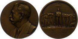 Frankreich, Bronzemedaille (Dm. Ca. 63,50mm, Ca. 112,19g) 1934, Von F. Cogné, Auf Georges Pointel. Av: Brustbild Nach Li - Monedas