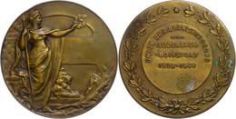Belgien, Bronzemedaille (Dm. Ca. 51mm, Ca. 49,52g), 1949, Unsigniert, Vereinigung Der Wäscher. Av: Stehende Weibliche Ge - Monedas