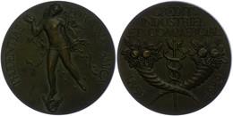 Frankreich, Bronzemedaille (Dm. Ca. 59,50mm, Ca. 107,20g), 1959, Von H. Dropsy. Av: Nackte Fortuna Von Vorn, Darum Umsch - Monedas