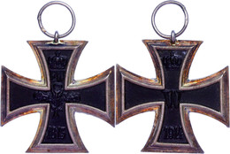 Preußen, Eisernes Kreuz 1914, 2. Klasse, Markierung Auf Bandring, Zustand 2., Katalog: OEK1909 II - Militares