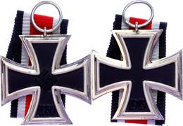 Eisernes Kreuz 1939, 2. Klasse, Mit Band, Ungetragen, Zustand 1-2.  I-II - Militaria
